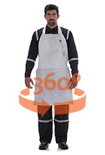 Apron for welding